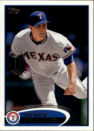 Photo of 2012 Topps #34 Derek Holland