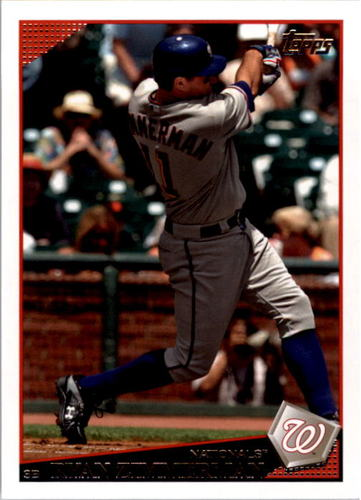 Photo of 2009 Topps #620 Ryan Zimmerman