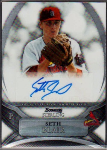 Photo of 2010 Bowman Sterling Prospect Autographs #SB Seth Blair