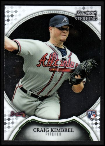 Photo of 2011 Bowman Sterling #47 Craig Kimbrel RC RC Rookie Card