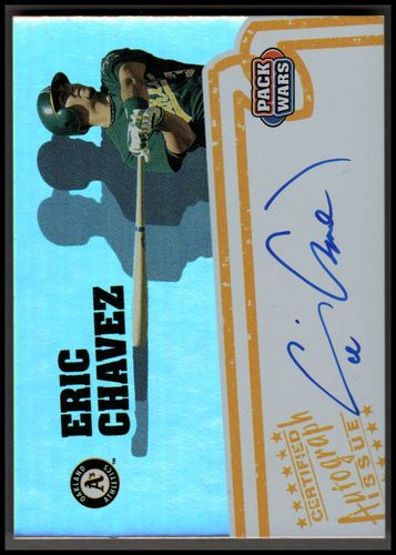 Photo of 2005 Topps Pack Wars Autographs #EC Eric Chavez C