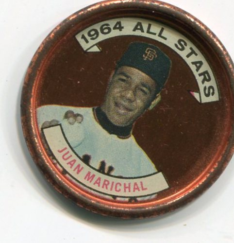 Photo of 1964 Topps Coins #157 Juan Marichal AS