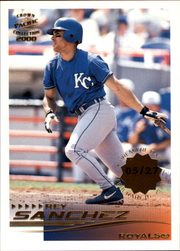 Photo of 2000 Pacific Crown Collection Premiere Date #135 Rey Sanchez