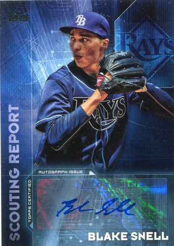 Photo of 2016 Topps Scouting Report Autographs Blake Snell
