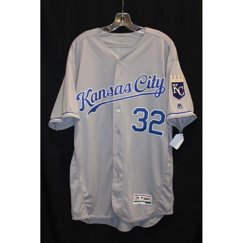 Photo of Game-Used Jersey: Brandon Maurer (Size 48 - KC at DET - 7/25/17)