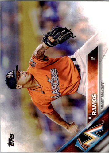 Photo of 2016 Topps #42 A.J. Ramos
