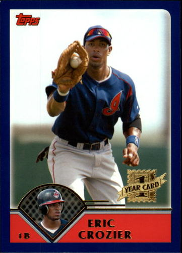 Photo of 2003 Topps Traded #T184 Eric Crozier FY RC