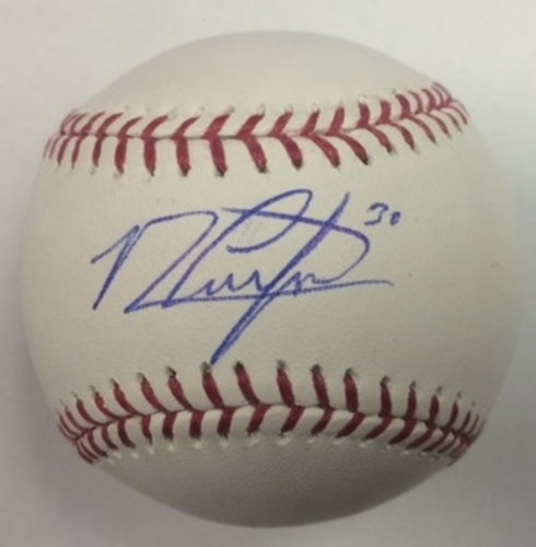 Photo of Michael Conforto Autographed Baseball