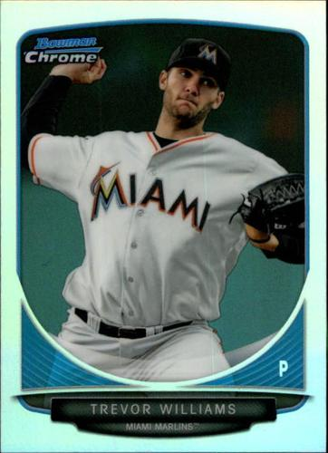 Photo of 2013 Bowman Chrome Mini Refractors #211 Trevor Williams