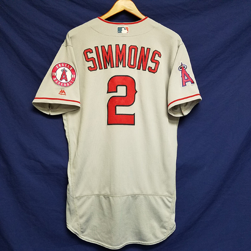 Photo of Andrelton Simmons Team-Issued 2016 Road Jersey