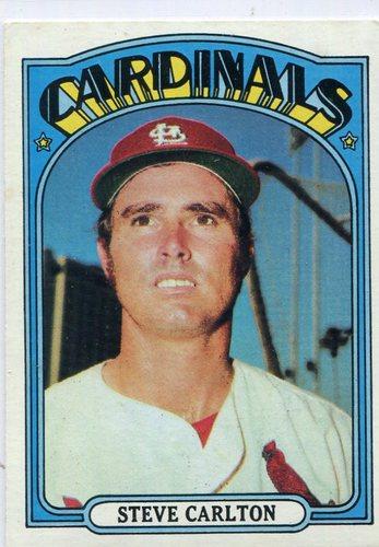 Photo of 1972 Topps #420 Steve Carlton Hall of Famer