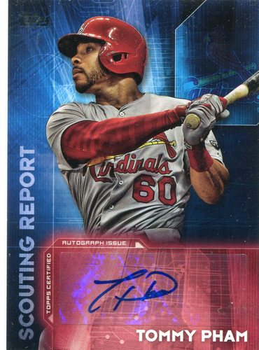 Photo of 2016 Topps Scouting Report Autographs Tommy Pham