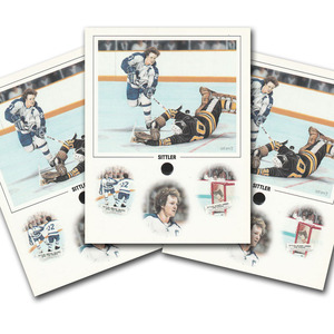 Daniel Perry Toronto Maple Leafs Art Piece Promo Cards