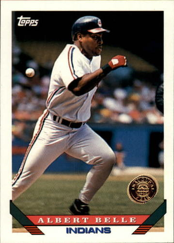 Photo of 1993 Topps Inaugural Rockies #635 Albert Belle