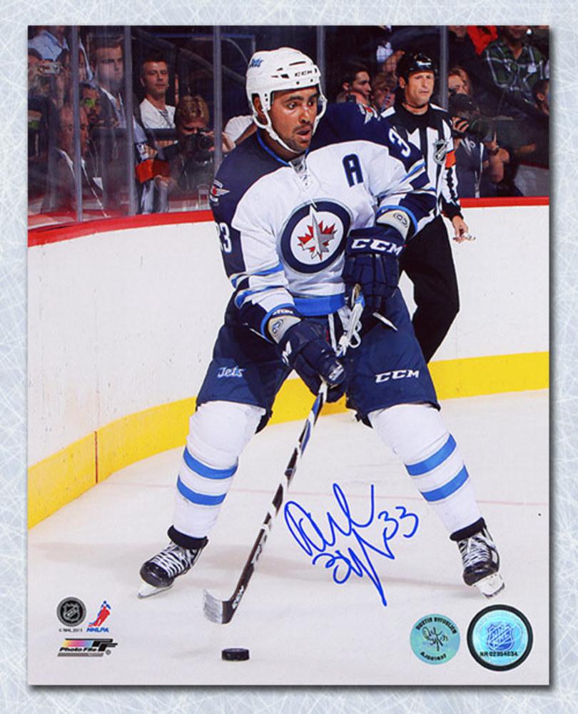 Dustin Byfuglien Winnipeg Jets Autographed Return To The NHL 8x10 Photo