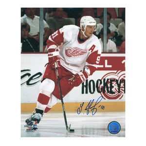 SERGEI FEDOROV Signed Detroit Red Wings 8 X 10 Photo - 70377