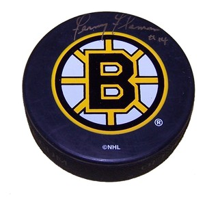 Fernie Flaman (deceased) Autographed Boston Bruins Puck