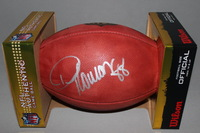 NFL - BRONCOS DEMARYIUS THOMAS SIGNED AUTHENTIC FOOTBALL