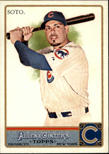 Photo of 2011 Topps Allen and Ginter #166 Geovany Soto