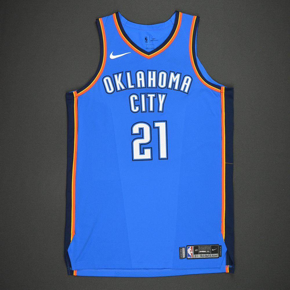 Andre Roberson - Oklahoma City Thunder - Kia NBA Tip-Off 2017 - Game-Worn Jersey