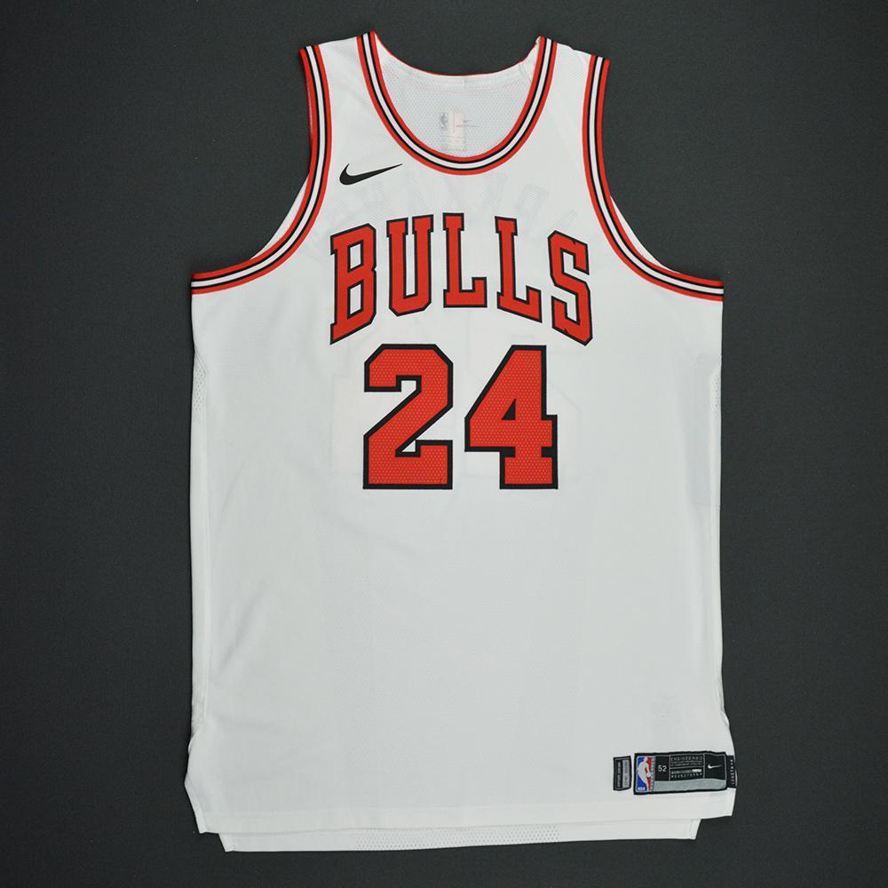 Lauri Markkanen - Chicago Bulls - Kia NBA Tip-Off 2017 - Game-Worn NBA Debut Jersey