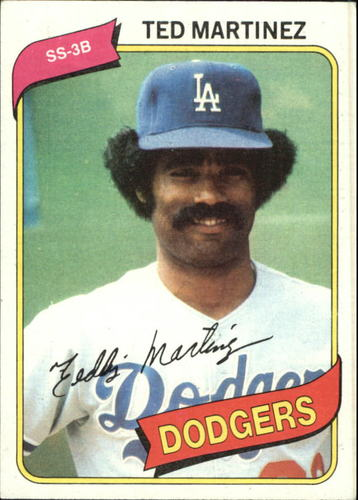 Photo of 1980 Topps #191 Ted Martinez