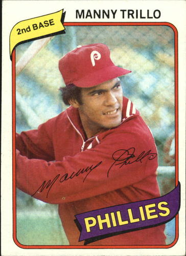 Photo of 1980 Topps #90 Manny Trillo