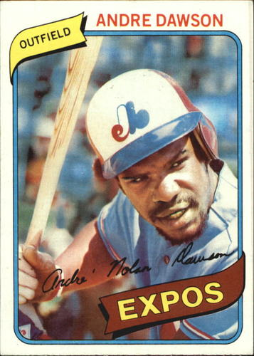 Photo of 1980 Topps #235 Andre Dawson