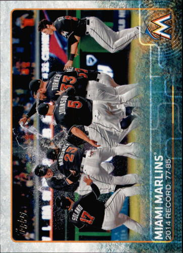 Photo of 2015 Topps #699 Miami Marlins