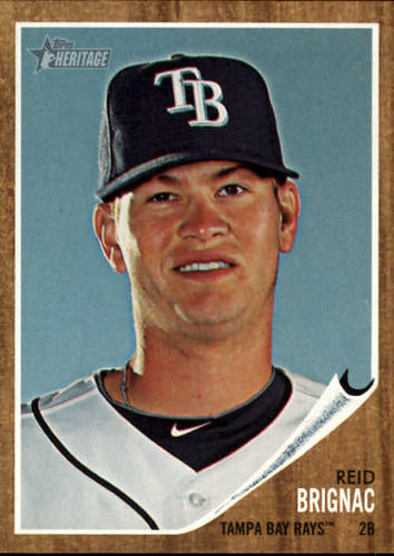 Photo of 2011 Topps Heritage #261 Reid Brignac