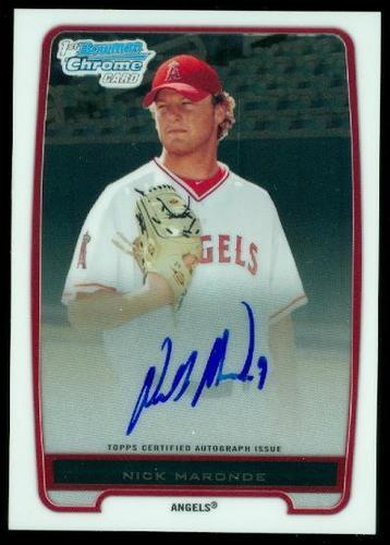 Photo of 2012 Bowman Chrome Prospect Autographs #BCP31 Nick Maronde