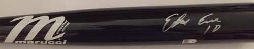 Photo of Edwin Encarnacion Autographed Black Marucci Bat