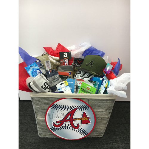 Braves Charity Auction - Braves Wives Favorite Things Basket - Sam Freeman
