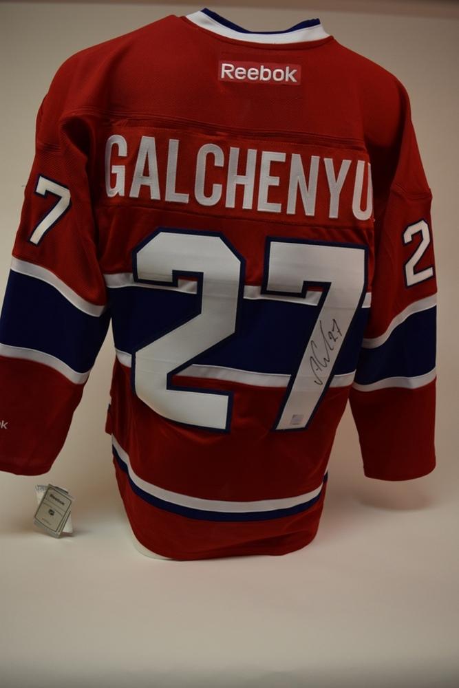 Chandail des Canadiens de Montréal autographié par Alex Galchenyuk | Alex Galchenyuk autographed Montreal Canadiens jersey