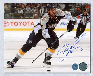 Shea Weber Nashville Predators Autographed Captain 8x10 Photo