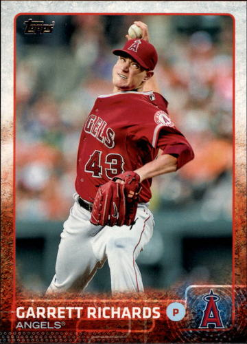 Photo of 2015 Topps #195 Garrett Richards