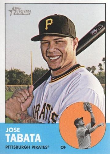 Photo of 2012 Topps Heritage #364 Jose Tabata
