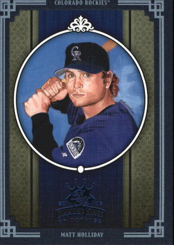 Photo of 2005 Diamond Kings Framed Blue #86 Matt Holliday