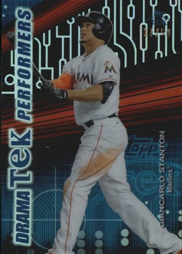 Photo of 2015 Topps High Tek DramaTEK Performers #DTPGS Giancarlo Stanton