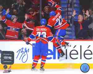 Brendan Gallagher - Signed 8x10 Montreal Canadiens Photo - First Point