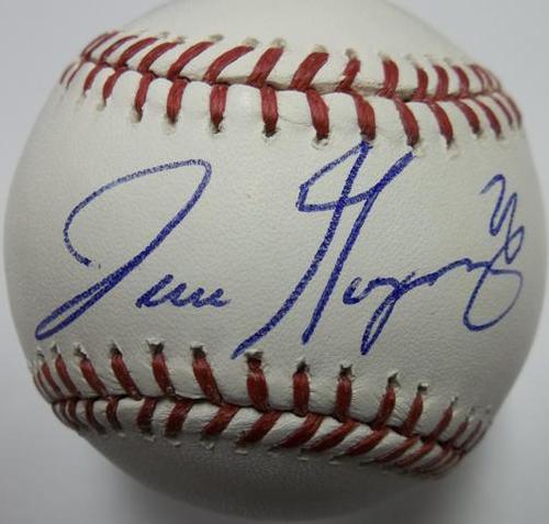 Photo of Jose Guzman Autographed Baseball