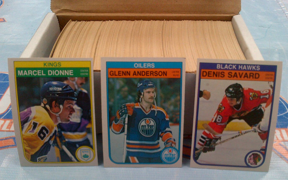 1982-83 OPC Partial Starter Set *OVER 350 NEAR MINT HOCKEY CARDS* *LAFLEUR, BOSSY, HAWERCHUK, ESPOSITO, ETC*