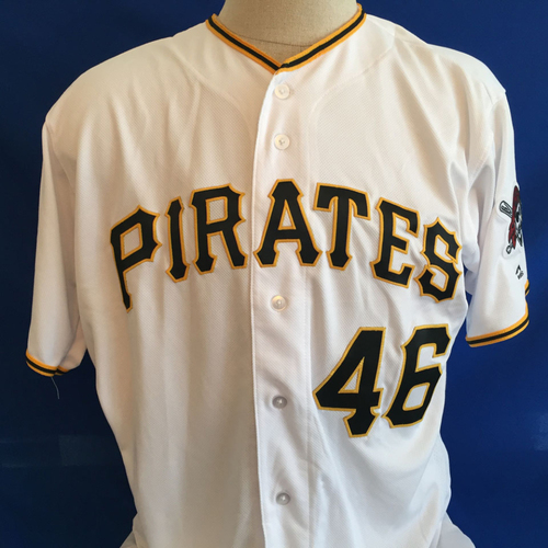 Photo of UMPS CARE AUCTION: Ivan Nova Signed Pirates Jersey Size 48