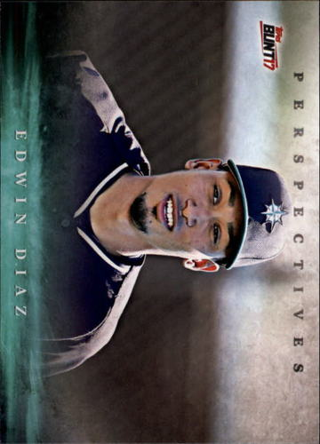 Photo of 2017 Topps Bunt Perspectives #PED Edwin Diaz