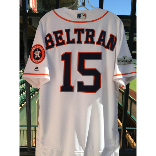 Photo of ALCS Game 6 Carlos Beltran Game-Used Home Jersey