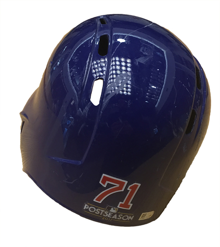 Photo of Wade Davis 2017 Postseason Batting Helmet