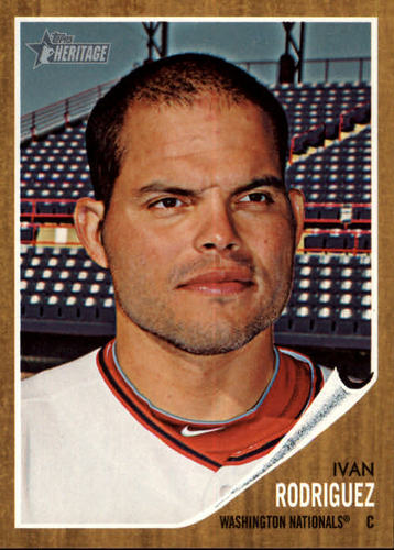 Photo of 2011 Topps Heritage #262 Ivan Rodriguez