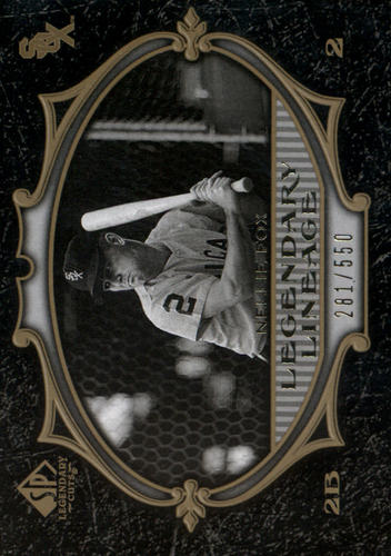Photo of 2007 SP Legendary Cuts #108 Nellie Fox LL