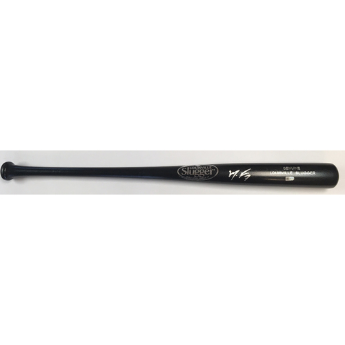 Photo of Maikel Franco Autographed Black Louisville Slugger Bat