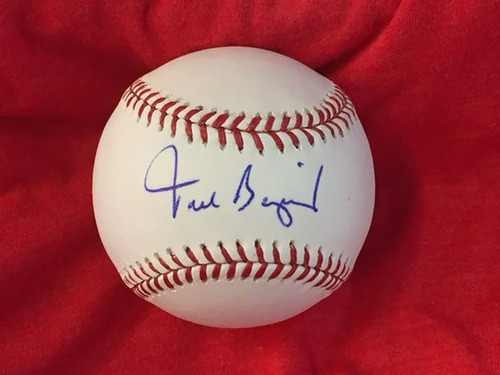 Photo of Todd Benzinger Autographed Baseball